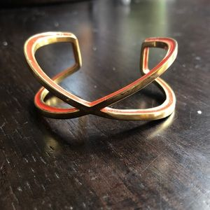 Baublebar Adjustable gold Criss-cross cuff!